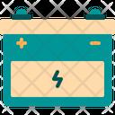 Car Energy Car Battery Icon