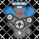 Icar Engine Motor Icon