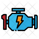 Engine Car Machine Icon