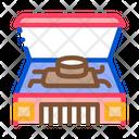 Car Engine Bonnet Icon