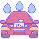 Car Engine Wash Icon