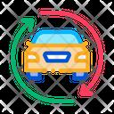 Car Exchange Icon