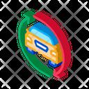 Car Exchange Sharing Icon