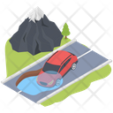 Car Flooding Icon