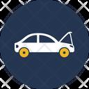 Car Front Brake Breakdown Car Icon