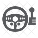 Game Steering Wheel Icon