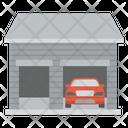 Car Garage Car Store Car Parking Icon