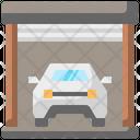 Car Garage Garage House Icon
