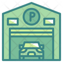 Car Garage Garage Parking Icon