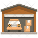 Car Garage Garage Car Icon