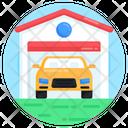 Car Garage Car Depot Car Parking Icon