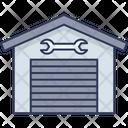 Car Garage Garage Workshop Icon