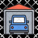Car Garage Porch Icon
