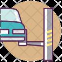 Car Garage Hoist Icon