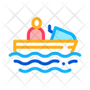 Boating Attraction Swimming Icon