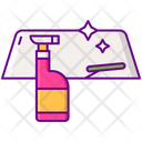Car Glass Cleaner Icon