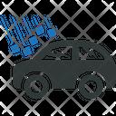 Car Auto Hail Icon