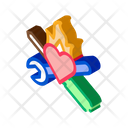 Instrument Heart Car Icon