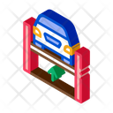 Car Lifting Restoration Icon