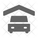 Car Garage House Icon