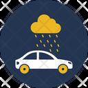 Car In Rain Icon