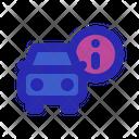 Car Information Icon