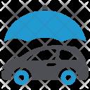 Vehicle Protection Umbrella Icon
