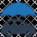 Auto Insurance Car Protection Icon