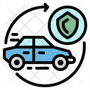 Car Insurance Transportation Icon