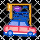 Car Insurance Crash Icon