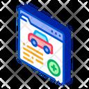 Car Health Insurance Icon