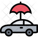 Car Insurance Weather Icon