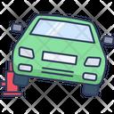 Car Jack Lift Car Service Icon