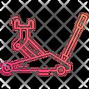 Car Jack Garage Car Lift Icon