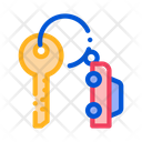Car Keys Parking Icon