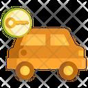 Car Rental Car Rental Icon