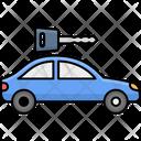 Car Key Automobile Car Icon