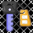 Fob Car Key Vehicle Key Icon