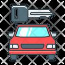 Key Car Rental Icon