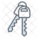 Key Access Key Key Chain Icon