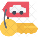 Car Keys Delivery Icon