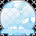Car Lease Rental Car Rental Transport Icon