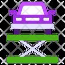 Car Lift Automobile Lift Car Jack Icon