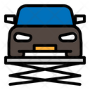 Lift Car Service Icon