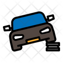 Car Lifter Maintenance Icon