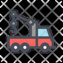 Car Lifting Car Shipping Car Shipping Truck Icon