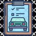 Car List Icon