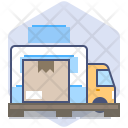 Car Courier Loading Icon