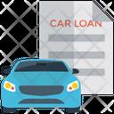 Mortgage Car Loan Car Lease Icon