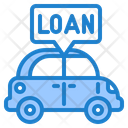 Car Loan Vehicle Transport Icon
